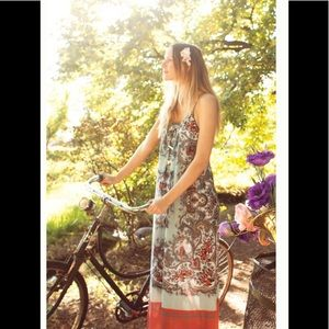 ‼️Anthropologie Languid Paisley Dress S‼️